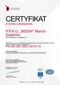certyfikat-systemu-zarzadzania-msdw-tartak